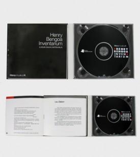Digipack CD dos cuerpos, una bandeja y libreto pegado