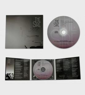 Digipack CD tres cuerpos, una bandeja, sin libreto