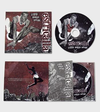 Digipack CD dos cuerpos, una bandeja y bolsa para libreto