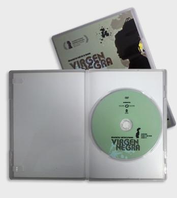Caja DVD slim transparente