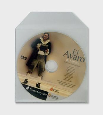 Bolsa de plástico CD