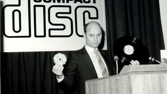 30 años del primer disco compacto (CD)