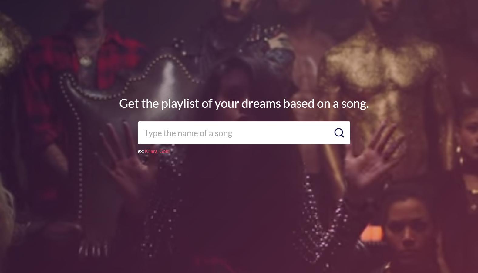 Crea playlist basadas en tus gustos en segundos2