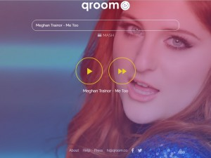 Qroom, el servicio que cambio la forma de disfrutar de la música