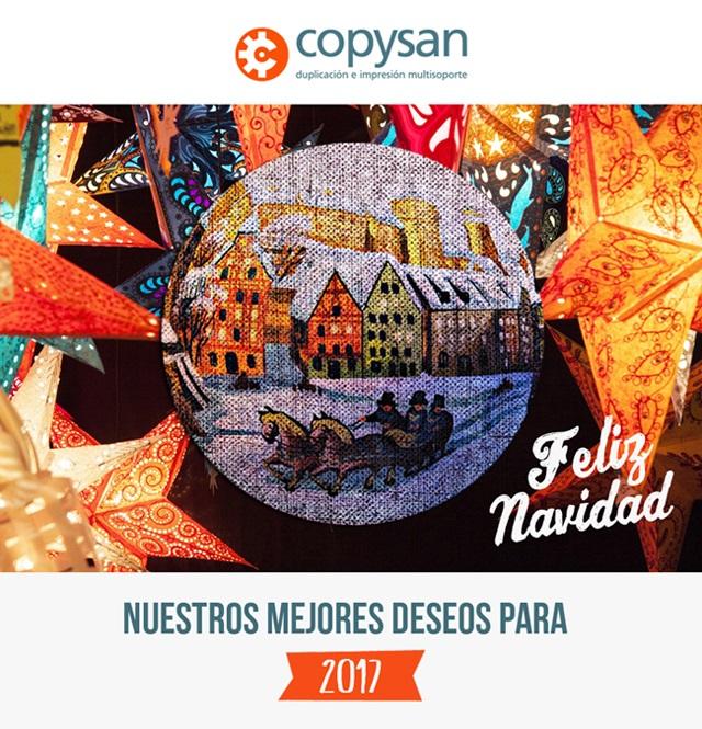Copysan- Impresion CD-Duplicacion CD-Navidad 2016