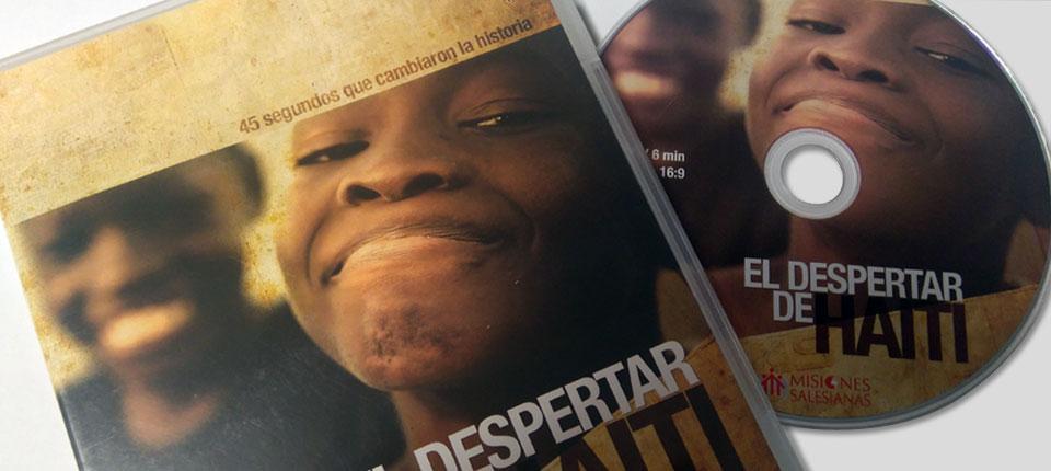 Caja DVD transparente - El despertar de Haiti