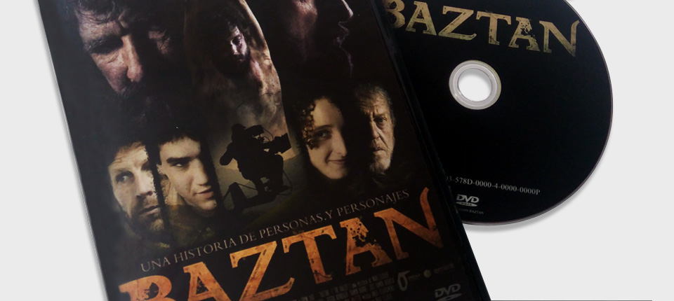 Caja DVD normal negra - Baztan