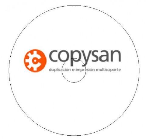Copysan-Impresion CD diseño de Galleta