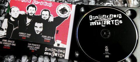 Digipack Ranura-Poster Lendakaris Muertos