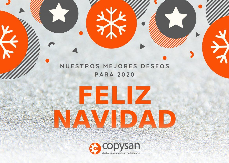 COPYSAN-Navidad Impresion CD dupilicaicon DVD