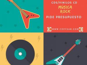 La música vuelve y es tiempo de rock, CDs de rock y vinilos CD