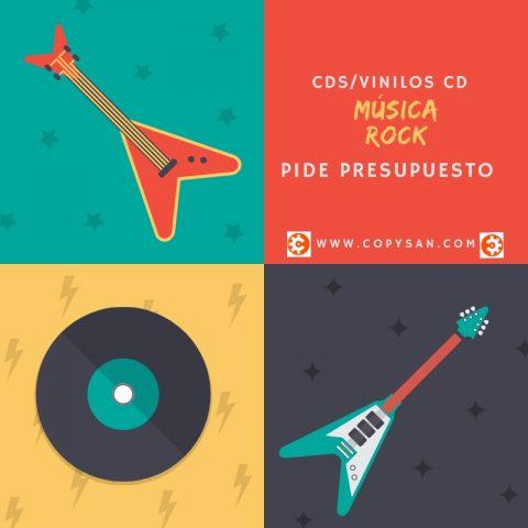 Copysan Musica Rock -Rock CD Vinilo CD