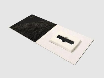 Digipack USB bandeja de espuma